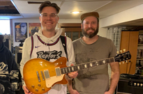 PUP's Steve Sladkowski Is This Year's Keeper of the Maple Leaf Forever Guitar