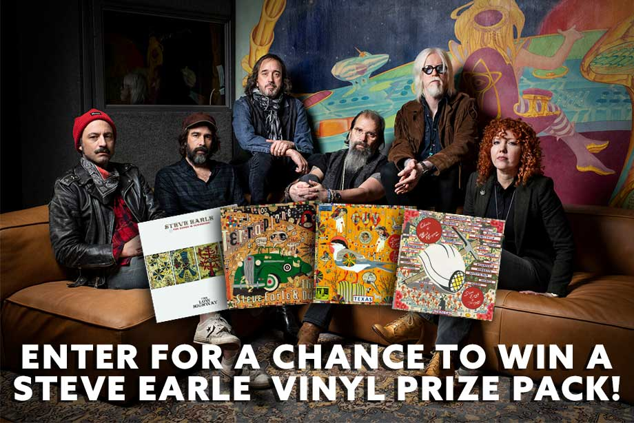 Steve Earle – Enter to win a vinyl prize pack!