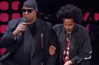 Stevie Wonder, Pharrell Williams, Roger Waters, Eddie Vedder Take a Knee