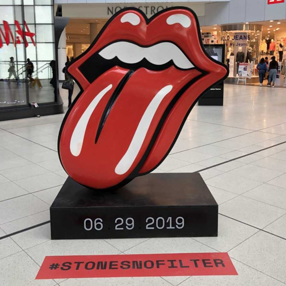 Mysterious Rolling Stones Statues In Toronto Are Sparking