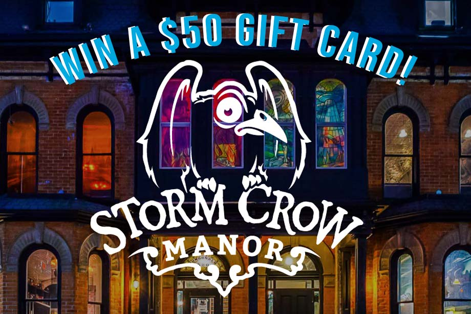 Storm Crow Manor – Win a $50 Gift Card!