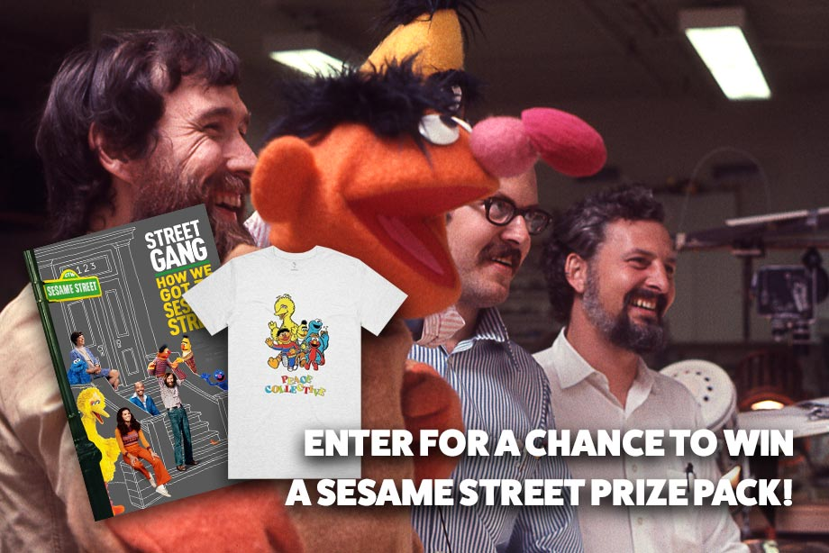 'Street Gang: How We Got to Sesame Street' — Enter for Your Chance to win a code to download the film + a Vintage Sesame Street T-Shirt!