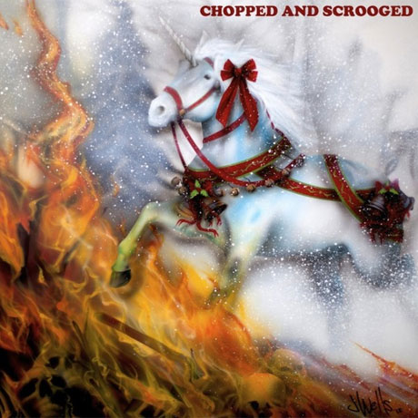 Sufjan Stevens'Chopped and Scrooged' (Christmas mixtape)