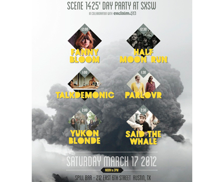 Yukon Blonde, Said the Whale, Parlovr Team Up for Sc�ne 1425 Day Party at SXSW