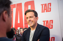 ​Jon Hamm, Jeremy Renner and Ed Helms Talk Goofing Off in 'Tag'