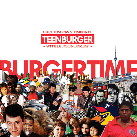 Ghettosocks and Timbuktu Join Forces as Teenburger, Rope In D-Sisive to Guest on Debut
