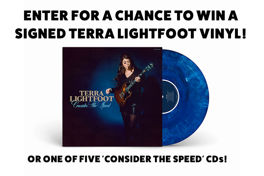 Terra Lightfoot – Enter for a chance to win a signed vinyl copy of 'Consider the Speed!'