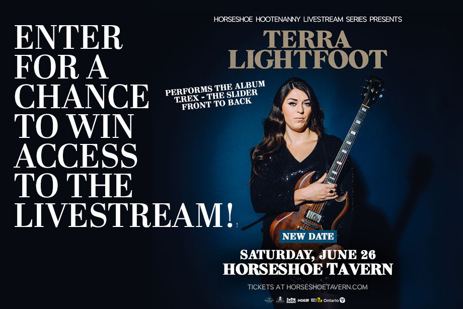 Terra Lightfoot — Enter for Your Chance to Win Access to Her Livestream Performance!