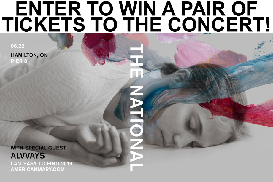 The National - Win a Pair of Tickets to Their Massive Hamilton Concert with Alvvays and more!