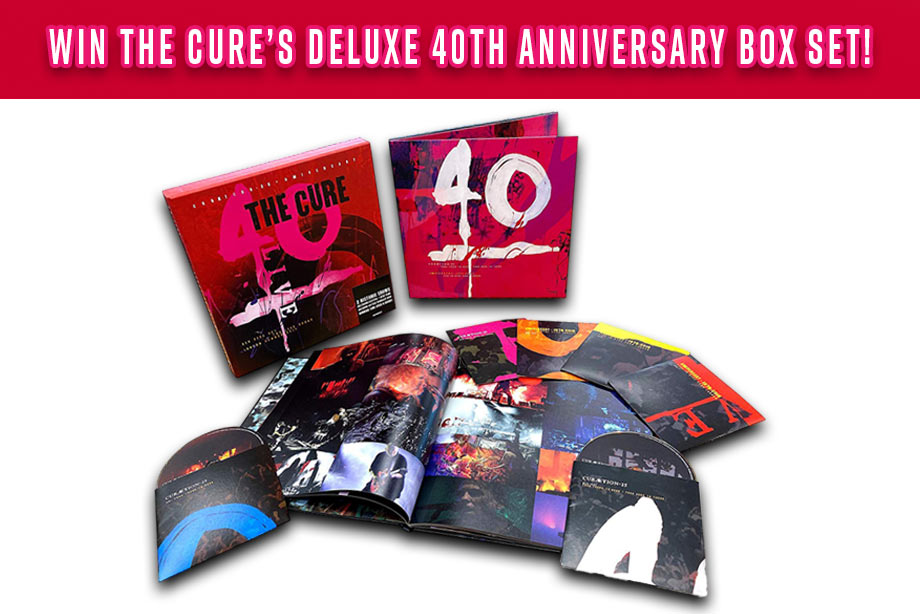 The Cure – Enter for a chance to win a '40 Live' box set