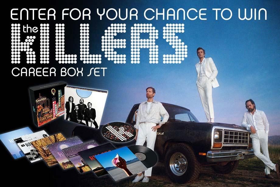 The Killers – Enter for a chance to win a career box set!