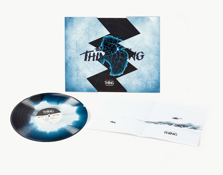 Ennio Morricone's Deluxe Vinyl Reissue   'The Thing'  Detailed