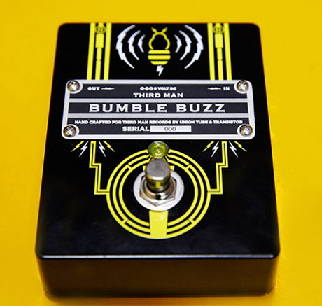 jack white 39 s third man records enlists vancouver company to design custom guitar pedal. Black Bedroom Furniture Sets. Home Design Ideas