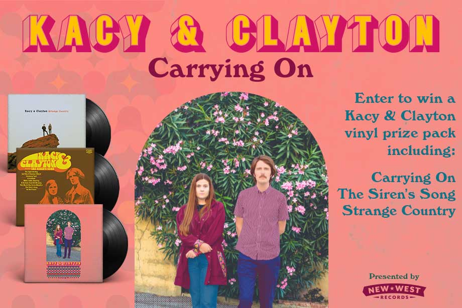 Kacy & Clayton – Enter for a Chance to Win a Vinyl Prize Pack!