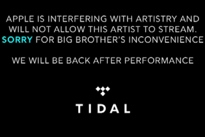 Apple Music Blocks Tidal from Streaming Drake Performance