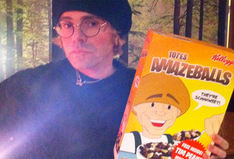 WTF: Charlatans' Tim Burgess and Kellogg's Team Up for Totes Amazeballs Cereal