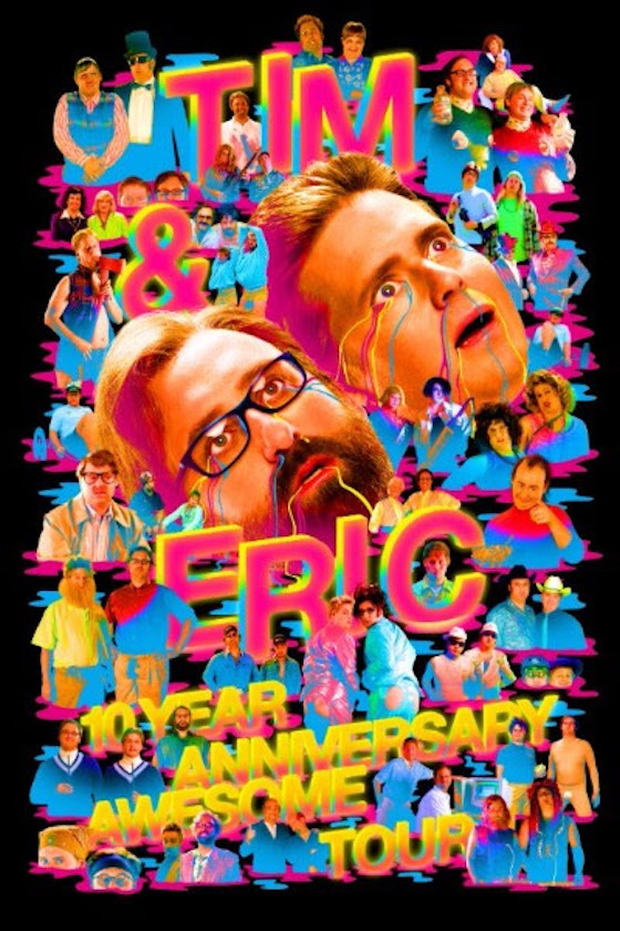 Tim and Eric Celebrate 10th Anniversary with Comedy Tour