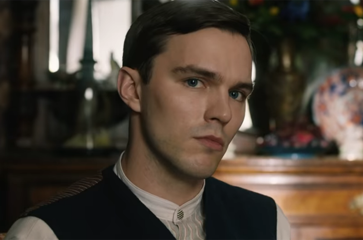 See Nicholas Hoult as 'Tolkien' in New Movie Trailer
