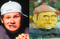 Someone Made a Nightmarish Tom DeLonge Cake on 'The Great British Bake Off'