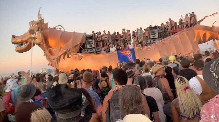 The New Tool Album Was a Big Hit at Burning Man