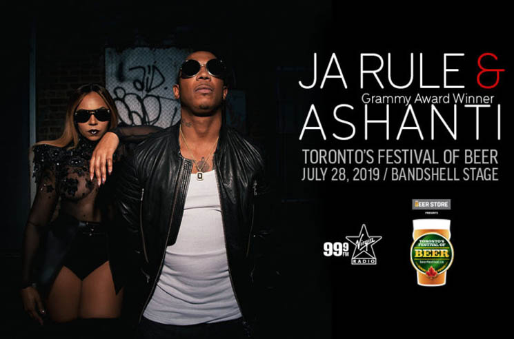 Ja Rule and Ashanti to Perform at Toronto's Festival of Beer This Summer