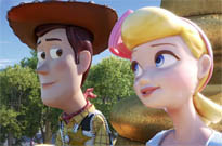 ​Woody Has to Choose Between Bo Peep and Forky in the Official 'Toy Story 4' Trailer