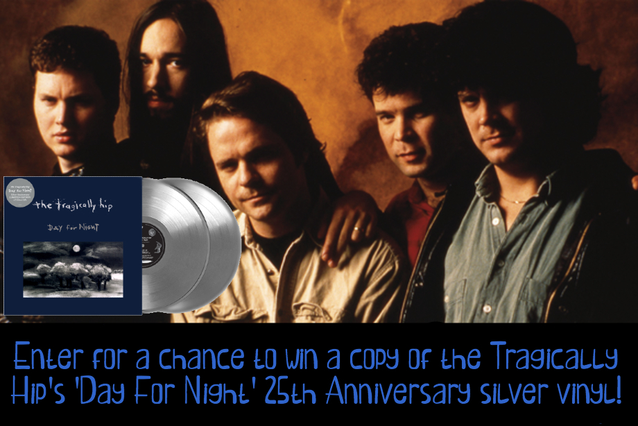 The Tragically Hip - Enter for a chance to win 'Day For Night' on vinyl!