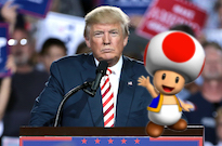 Stormy Daniels Says Donald Trump's Penis Looks Like Toad from 'Mario Kart'