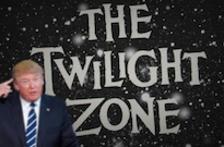 Scottish Newspaper Says Donald Trump's Inauguration Is Just a 'Twilight Zone' Episode