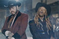 Ty Dolla $ign and Post Malone Are a Pair of Futuristic Cowboys in Their 'Spicy' Video