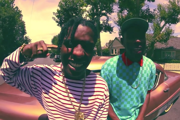 A$AP Rocky Does an Incredible Tyler, the Creator Impression