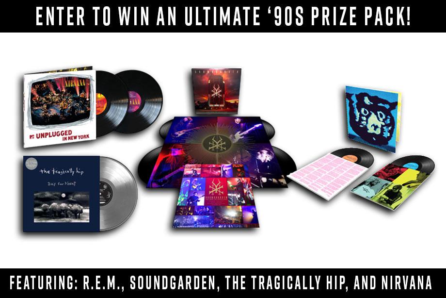 Ultimate Alt '90s – Enter to Win a Massive Vinyl Prize Pack!
