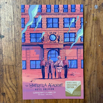 Gerard Way Publishes 'The Umbrella Academy' Volume 3