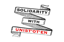 Members of Arcade Fire, Arkells, PUP, July Talk Show Solidarity with Unist'ot'en Camp