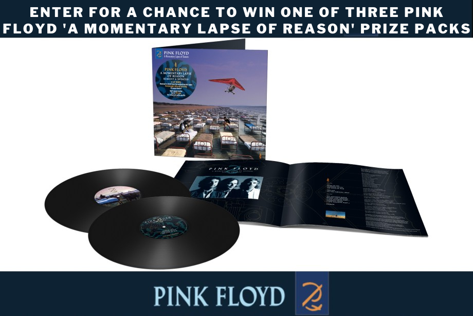 Pink Floyd — Enter for a chance to win one of three 'A Momentary Lapse of Reason' prize packs!