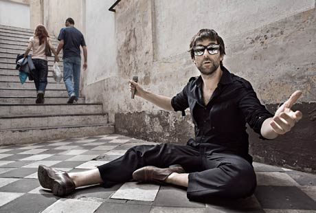 Jamie Lidell Gets Personal