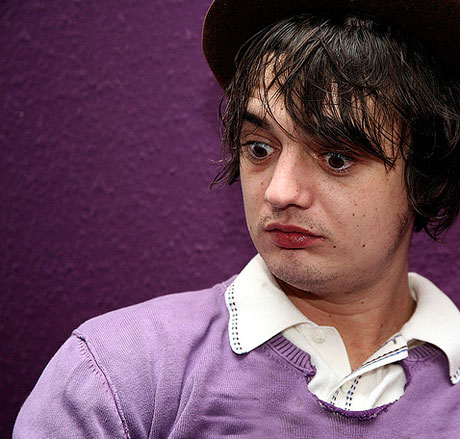 With Pete — sorry, Peter — Doherty, it's hard to talk about music without considering the baggage that his drug troubles bring. Still, Grace/Wastelands can ... - up-Peter_Doherty
