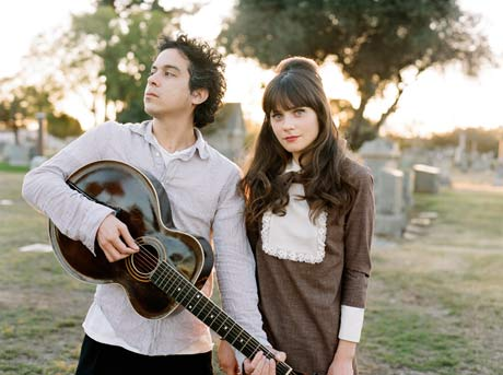 She & Him - Zooey Deschanel and M. Ward