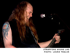 devin townsend discography