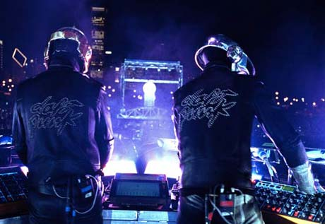 Daft Punk Writing New Material with Paul Williams