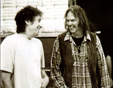 Bob Dylan Visits Neil Young's Home During Winnipeg Stop