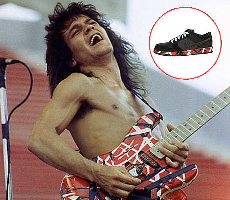 Eddie Van Halen Sues Nike Over Shoe's Colour Scheme