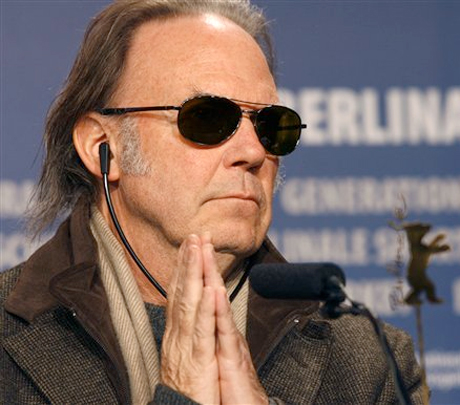 "Neil Young Doesn't ""Give Up"" Despite Not Changing the World"