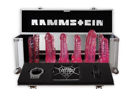 Image result for rammstein dildos