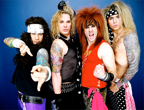 Comedy Central Orders Up Pilot for Steel Panther Reality Show