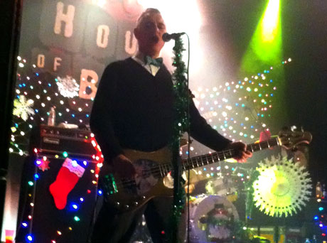The VandalsHouse of Blues, Anaheim, CA, December 21