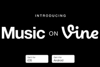 Vine Introduces New Music Features