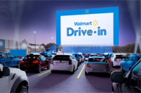 Walmart Is Transforming Its Parking Lots into Drive-In Movie Theatres