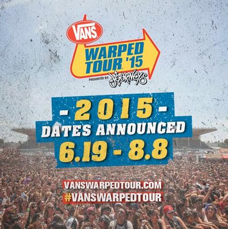 804b9763e2 Warped Tour Reveals 2015 Schedule