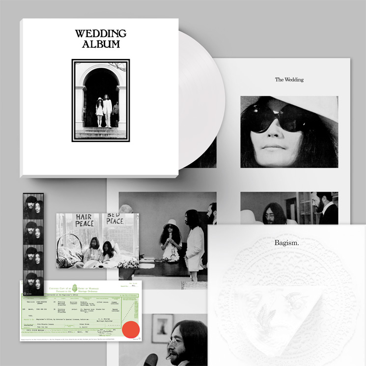John Lennon And Yoko Ono S Wedding Album Gets 50th Anniversary Reissue